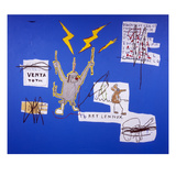 The Mechanics that always have a Gear Left Over, 1988 Giclee Print by Jean-Michel Basquiat