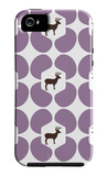 Purple Deer Hoof iPhone 5 Case by  Avalisa