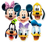 Disney 6pk- Mickey and Friends Face Masks Masques