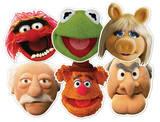 Muppets Party 6pk-Face Masks Maske