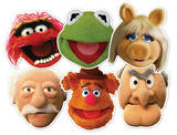Muppets Party 6pk-Face Masks Mask