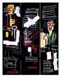 Trompetspelers, 1983 Gicléedruk van Jean-Michel Basquiat