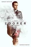 Looper, avec Bruce Willis, 2012 : affiche américaine du film Affiches
