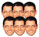 Chicarito 6pk-Face Masks Maske