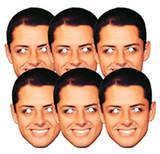 Chicarito 6pk-Face Masks Maska