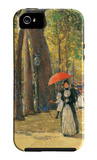Fifth Avenue and Washington Square iPhone 5 Case by Childe Hassam