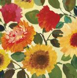 Fall Garden II Poster von Kim Parker