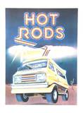 Hot Rods Limited Edition by Tony Mascio