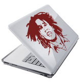 Bob Marley-Laptop Sticker Laptop Stickers