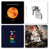 Coldplay - Logos Boxed Coaster Set Coaster