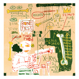 Carbon dating System Versus Scratchproof Tape, 1982 Giclee Print by Jean-Michel Basquiat