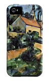 Road Curve in Montgeroult iPhone 5 Case by Paul Cézanne