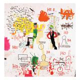 Riddle Me This, Batman, 1987 Giclée-Druck von Jean-Michel Basquiat