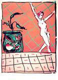 Ballet Story Eksklusivudgaver af Peter Max