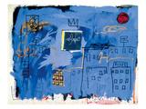 Uten tittel, 1981 Giclee-trykk av Jean-Michel Basquiat