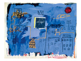 Jean-Michel Basquiat - Untitled, 1981 - Giclee Baskı