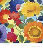 Blumenmarkt II Poster von Kim Parker