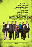 Seven Psychopaths Movie Poster Print