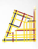 Folded NYC Serigraph by  Jacobs
