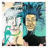 Dos Cabezas, 1982 Lmina gicle por Jean-Michel Basquiat