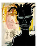 Sans titre, 1984 Reproduction proc&#233;d&#233; gicl&#233;e par Jean-Michel Basquiat