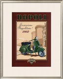 Napoli Scooter Art by Bruno Pozzo