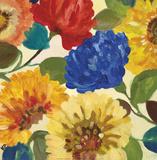 Passion Flowers II Kunstdrucke von Kim Parker