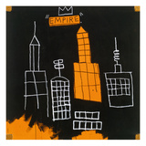Mecca, 1982, Lmina gicle por Jean-Michel Basquiat