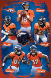 Denver Broncos 2012-13 Team Posters