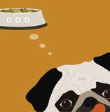 Peek-A-Boo: Pug Poster by Yuko Lau