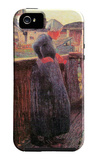 On the Balcony iPhone 5 Case by Giovanni Segantini