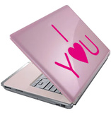 I Love You-Laptop Sticker Klistermrker til brbar computer