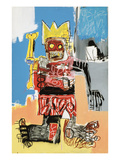 Untitled, 1982 Lmina gicle por Jean-Michel Basquiat