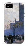 Lower Fifth Avenue iPhone 5 Case by Childe Hassam