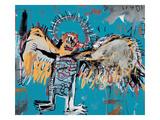 Uten tittel, engel, 1981 Giclée-trykk av Jean-Michel Basquiat