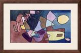 Dramatic Landscape; Dramatische Landschaft Framed Giclee Print by Paul Klee