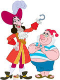 Captain Hook &amp; Mr. Smee - Jake and the Neverland Pirates Lifesize Standup Poster Stand Up