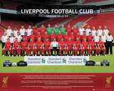 Liverpool FC Team Photo 2012-13 Poster