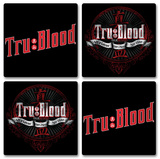 True Blood Boxed Coaster Set Coaster