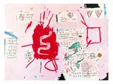Snakeman, 1982-1983 Giclée-tryk af Jean-Michel Basquiat