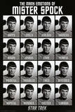 Star Trek - The Many Emotions of Mister Spock Poster