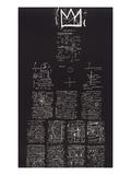 Tuxedo, 1982-83 Giclée-tryk af Jean-Michel Basquiat