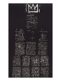 Tuxedo, 1982-83 Giclee Print by Jean-Michel Basquiat
