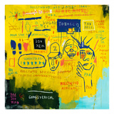 Hollywood Africans, 1983 Gicléetryck av Jean-Michel Basquiat