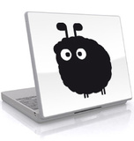 The Sheep-Laptop Sticker Laptop Stickers