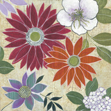 Vintage Floral II Art by Lee Speedwell
