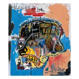 Utan titel, 1981 Gicleetryck av Jean-Michel Basquiat