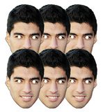 Suarez 6pk-Face Masks Neuheiten