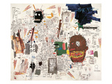 Untitled, 1987 Giclee Print by Jean-Michel Basquiat
