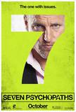 Seven Psychopaths Movie Poster Lámina maestra